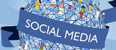 Graphic promoting Social Media.