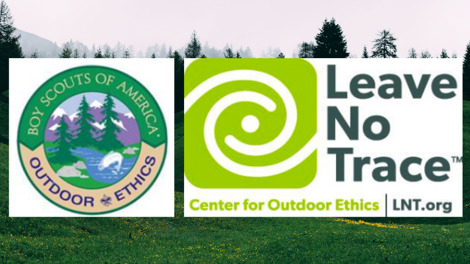 Leave No Trace outdoor ethics banner