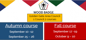 Graphic advertising Wood Badge